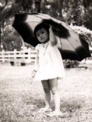 So young... with my umbrella :-p